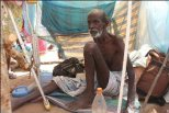 one of the IDPS detained at Manik Farm camp