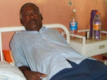 P.A. Antony Mark in Mannar hospital